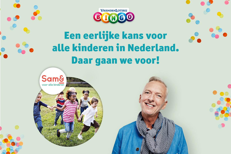 VriendenLoterij Bingo Samen voor alle kinderen
